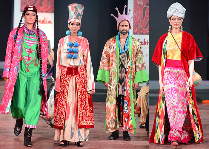 Aizhan Bekkulova, Designer, Textile, Ikat, World Ikat Textiles, Bikaner House,