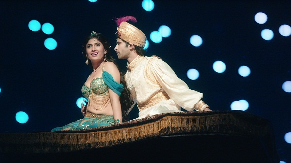 A still from Aladdin
