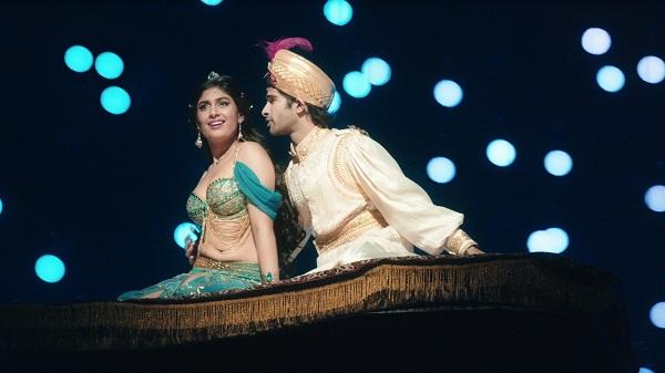 A still from Aladdin