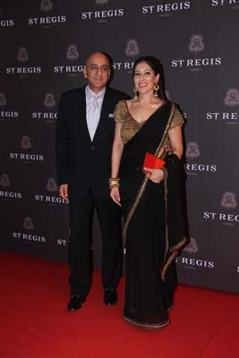 Amrit and Maheka Mirpuri