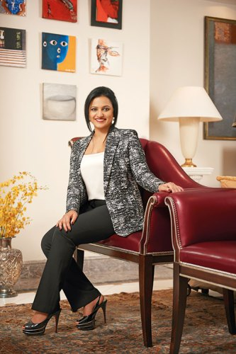 Amruda Nair: living in two countries
