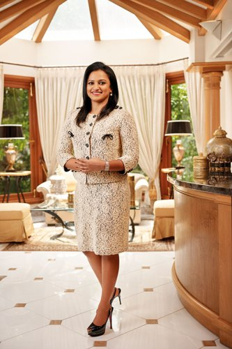 Amruda Nair: high-flying entrepreneur