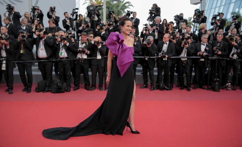 Andie Macdowell In Roberto Cavalli Couture