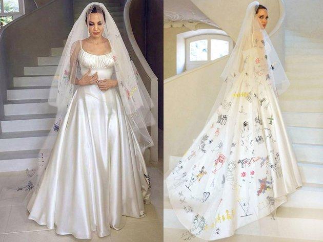 Athena Wedding Dress 39 Vintage Angelina Jolie