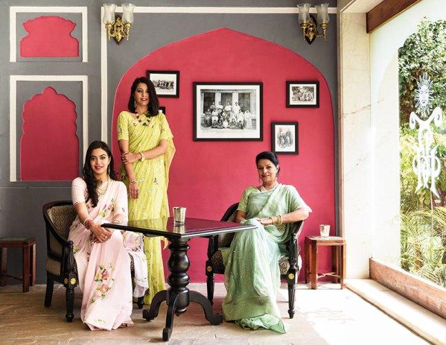 Left to right: Shambhavi Singh, Shivangani Singh, Angelique Singh