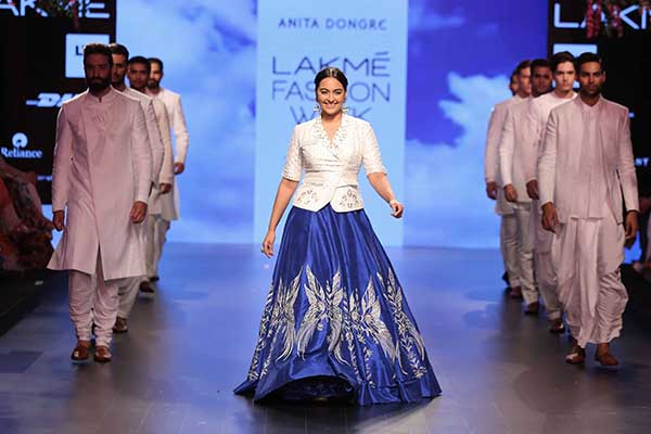 Anita dongre, lakme fashion week, summer resort 2016, fashion,