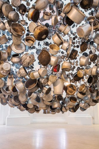 Subodh Gupta's Cooking The World at the Singapore Biennale