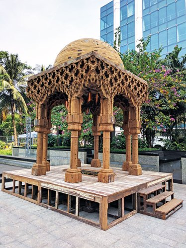 A built structure from Sudarshan Shetty's A Song A Story