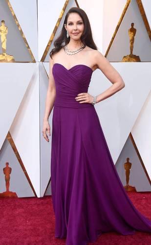 Ashley Judd in custom Badgley Mischka