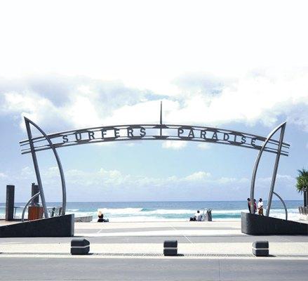 The Surfers Paradise Esplanade