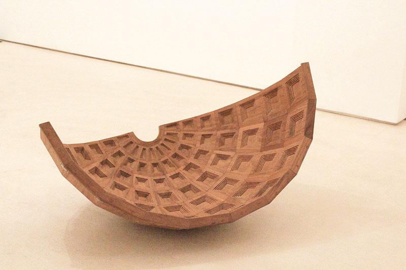 Ayesha Sultana, Tabula Rasa II, 2014, wood