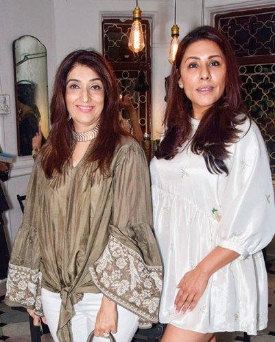 Azmina Rahimtoola, Reshma Merchant