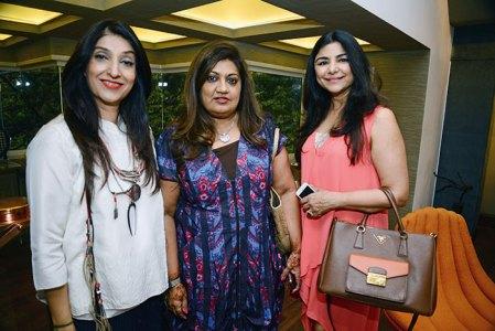 Azmina Rahimtoola, Sandhya Mukunandan, Yasmin Morani