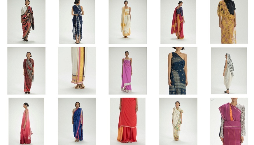 Artefact from the bal Fashion on Google Arts and Culture virtual exhibition