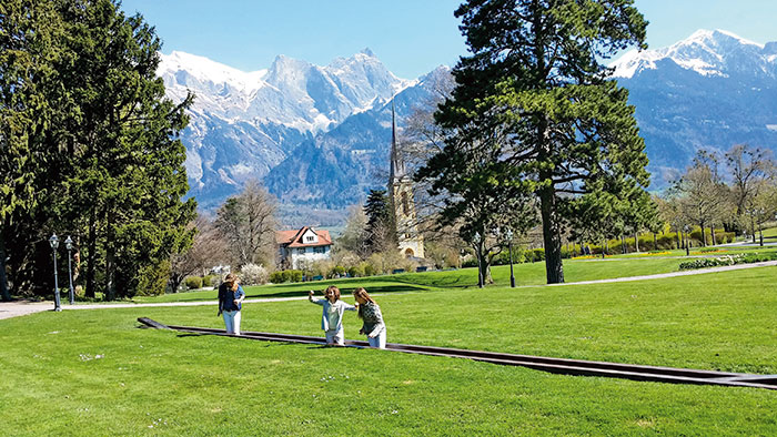 Bad Ragaz: a long tradition as a wellness town