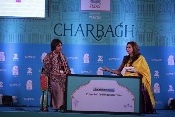 Barkha Dutt and Shobhaa De