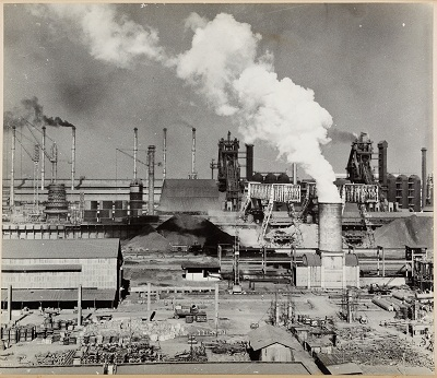 Bhilai Steel Works, early 1960s