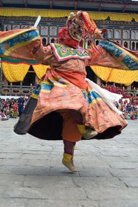 Mask dance: keeping the culture alive