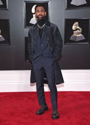 Big Sean in in Salvatore Ferragamo