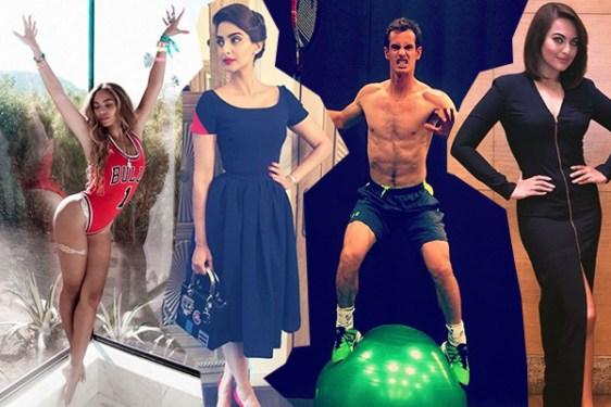 Beyonce, Sonam Kapoor, Andy Murray, Sonakshi Sinha
