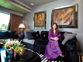 Bina Goenka: designing jewels for the gods