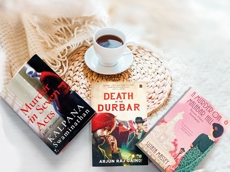 Murder In Seven Acts — Lalli Mysteries, Kalpana Swaminathan, Speaking Tiger, A Murder On Malabar Hill — Perveen Mistry Investigates, Sujata Massey, Penguin Random House India, Death At The Durbar, Arjun Raj Gaind, Harper Black/Harpercollins India