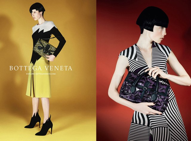 Bottega Veneta Fashion AW 2014 campaigns