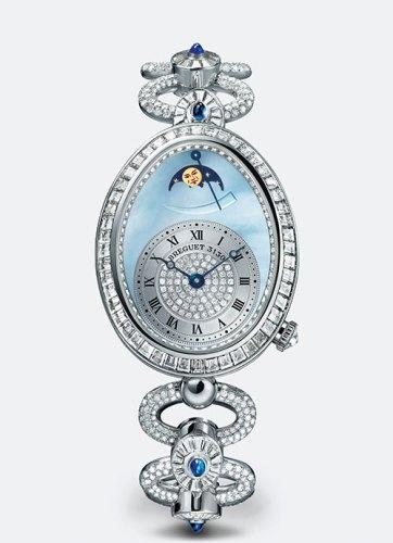 Reine de Naples 8909 Haute Joaillerie watch with blue sapphires