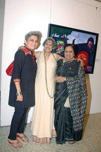 Brinda Miller, Dolly Thakore, Saryu Doshi