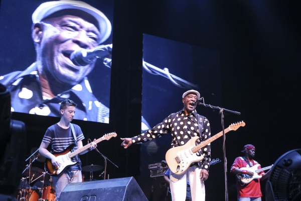 Buddy Guy, Quinn Sullivan, blues, prodigy, mentor, Mahindra Blues Festival 2015