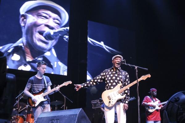 Buddy Guy, Quinn Sullivan, blues, prodigy, mentor, Mahindra Blues Festival 2015