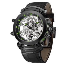 Bvlgari: Tourbillon Saphir Ultranero