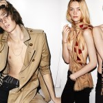 Burberry Spring SUmmer 2016 campaign shot by mario testino with dylan brosnan