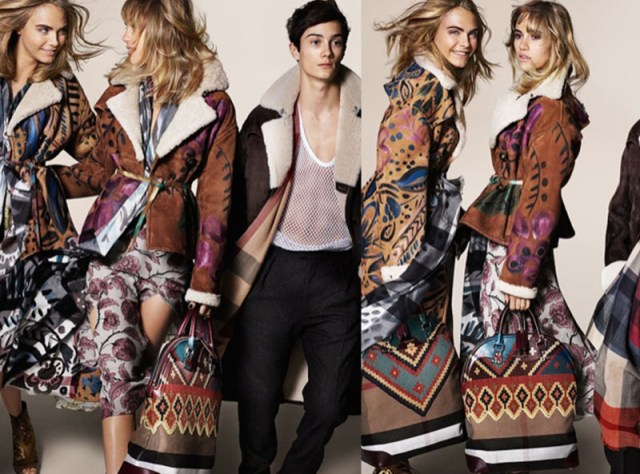 Burberry Fashion AW 2014 campaigns