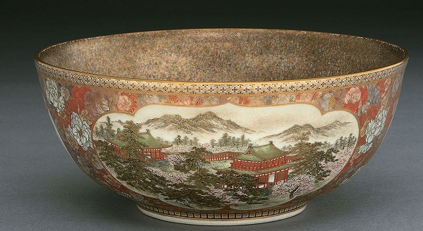 Satsuma Bowl, Meiji period (1868–1912), c. 1895–1905 Sir Ratan Tata Art Collection