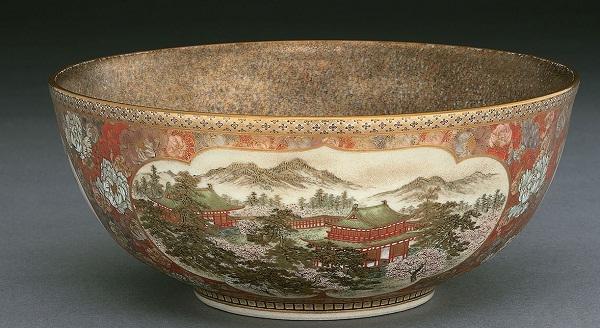 Satsuma Bowl, Meiji period (1868–1912), c. 1895–1905 Sir Ratan Tata Art Collection