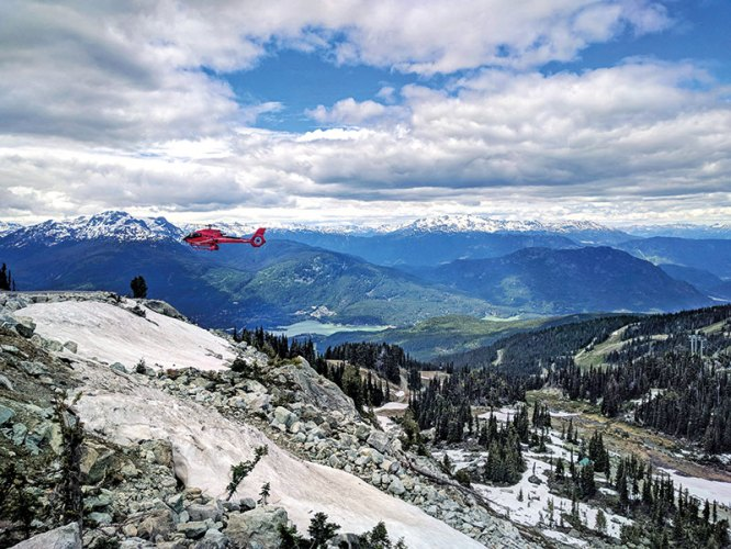 The Panoramic View From Blackcomb Mountain, Whistler