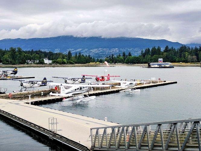 The Seaplane Port in Victoria