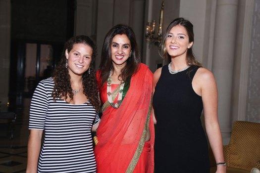 Cara Kennedy, Sunita Rana, Michaela Kennedy