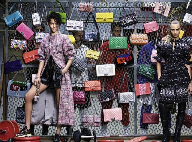 Chanel Fashion AW 2014 campaigns