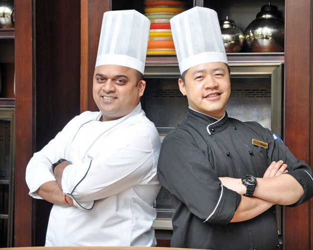 Chef Hitesh Rai and Chef Mandar Madav