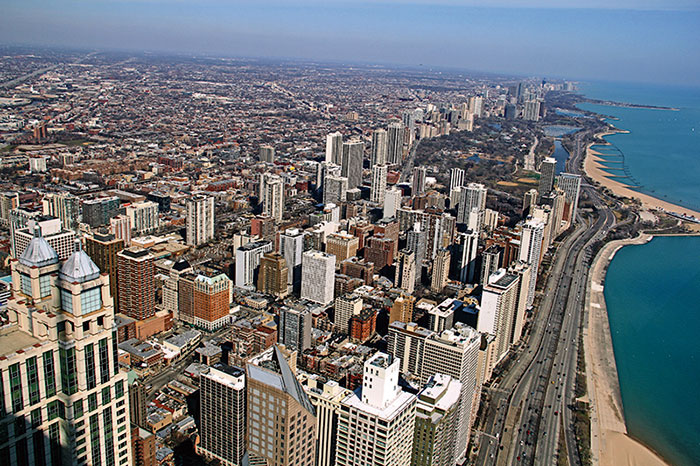 Chicago, Windy City, Michigan Avenue, Wrigley Building, Chicago Tribune Tower