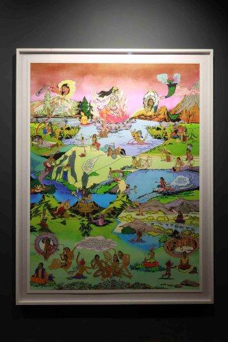 Chitra Ganesh's work