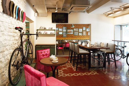 Ciclo Cafe: cycles and banoffee