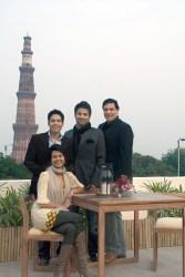 (L-R) Wasiqa Soni, Varun Soni,  Vidur Parashar, Nikhil Kanwar