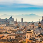 Cityscape of Rome, Rome, Italy, travel, history, architecture