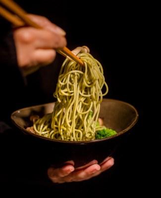 Coriander Garlic Noodles