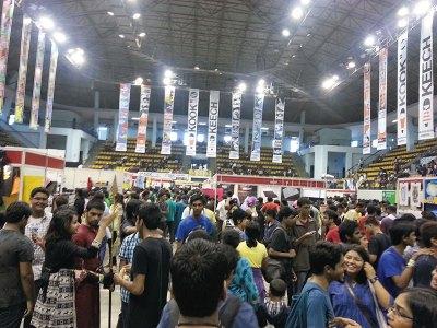Crowded Comicon Bangalore