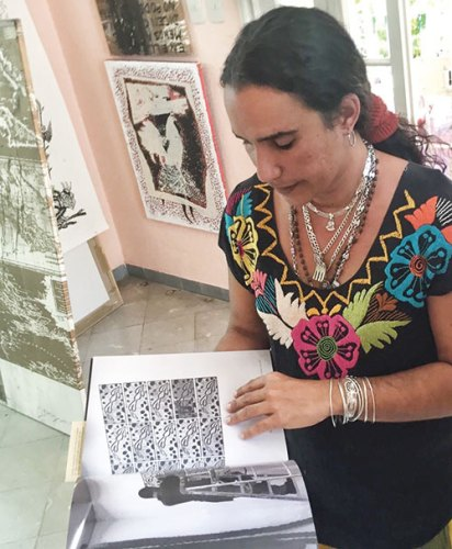 Sussette Martinez Montero, Havana's foremost art curator and guide