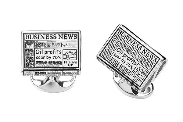 Cufflinks from Deakin and Francis set in silver.
